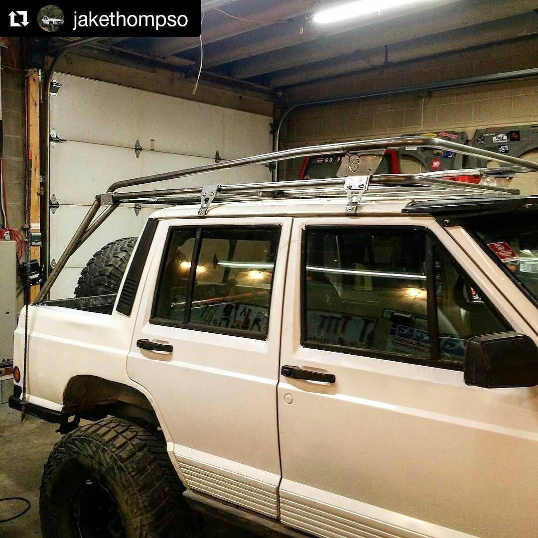 Totally Digging Jakethompso S Jcr Prerunner Rack Mod On His