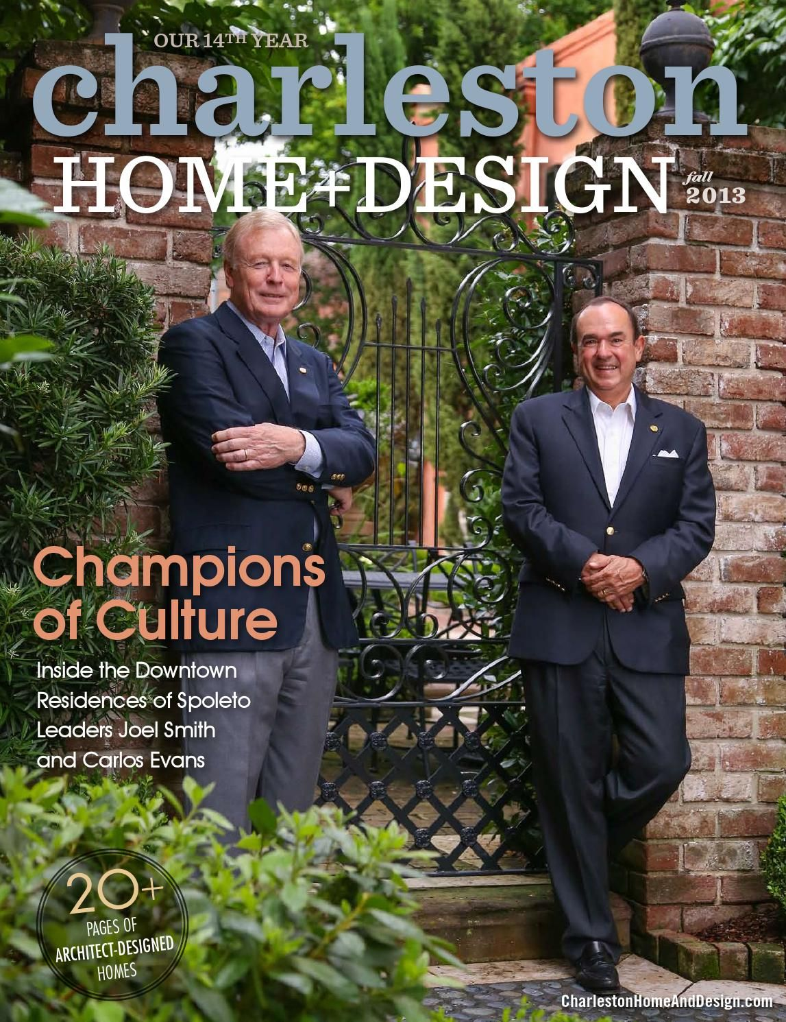 Charleston Home + Design Magazine   Fall 2013