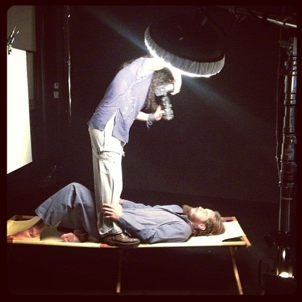 Travis Fimmel behind-the-scenes photoshoot by Amanda Demme