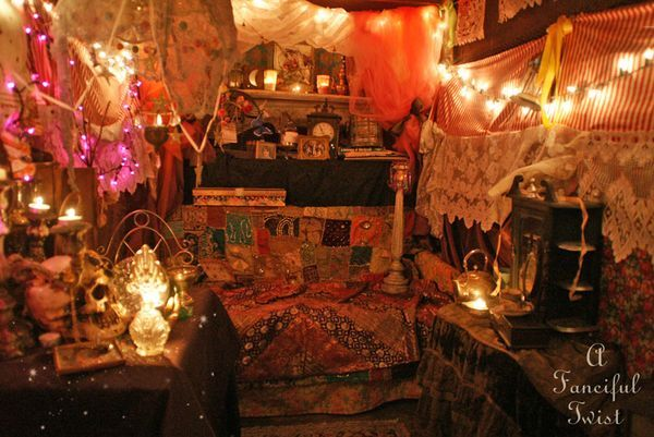 The Fortune Teller In The Gypsy Garden Gypsies Around World