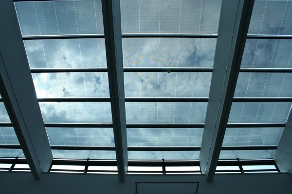Thin Film Photovoltaic In 2019 Solar Roof Glass Roof
