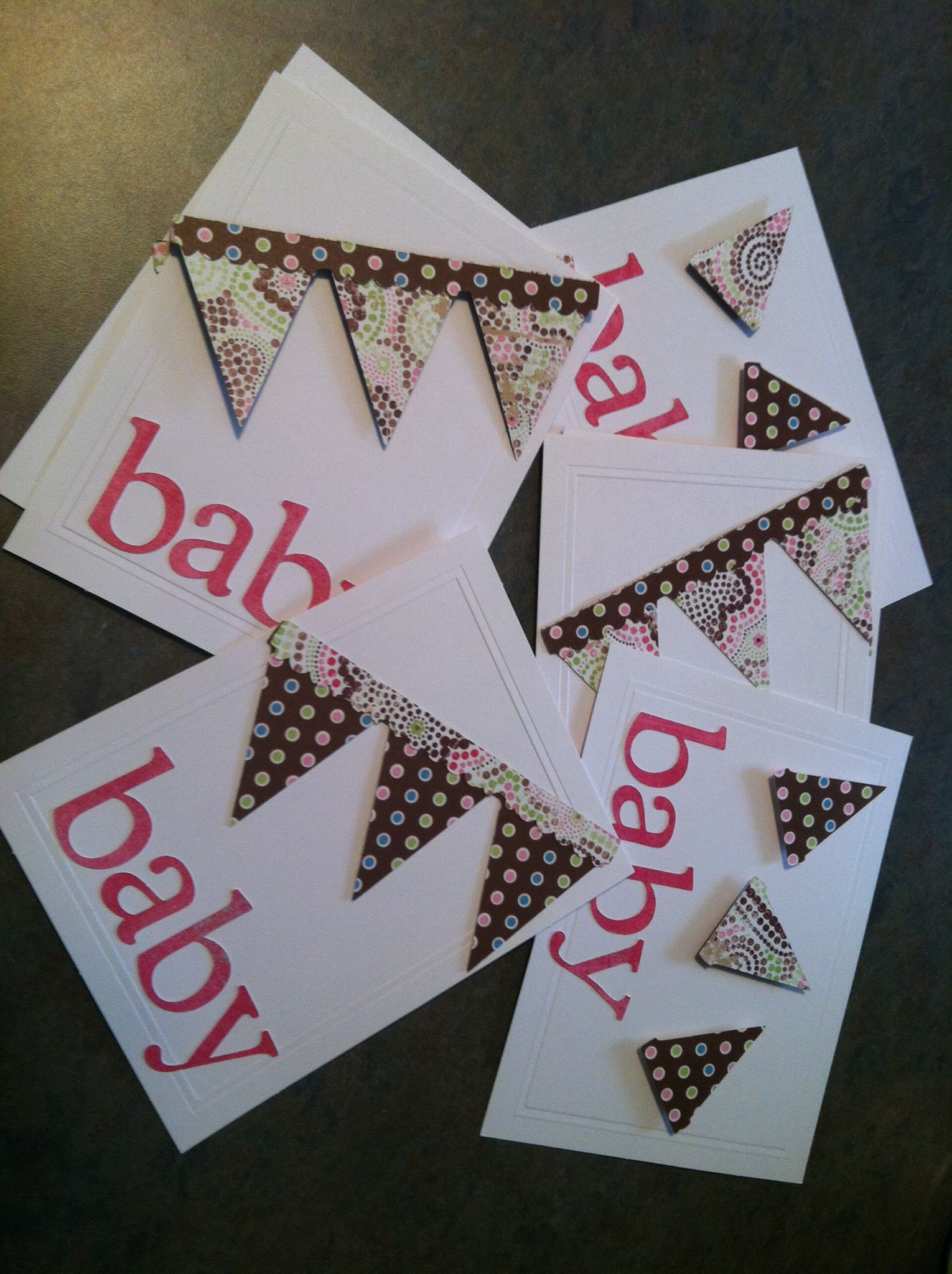 Faith Haven Gifts~  Baby Postcard Packets.