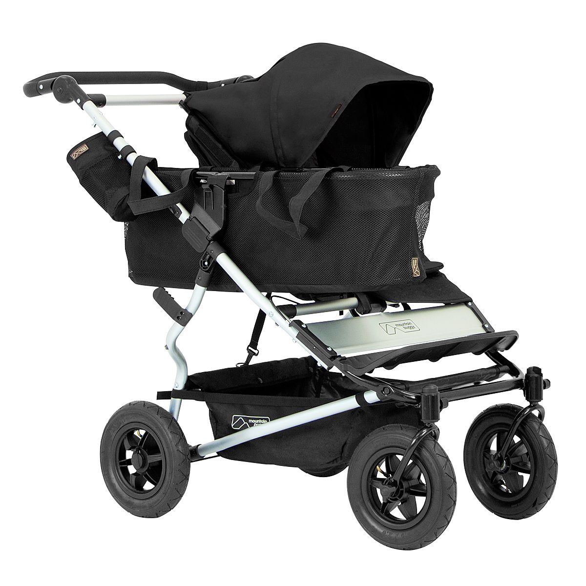 Mountain Buggy duet compact side by side stroller