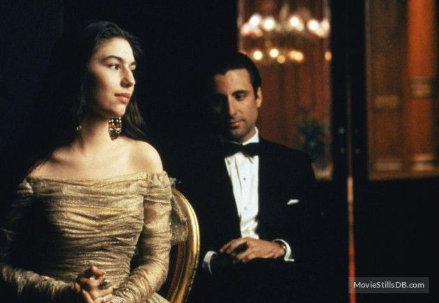 The Godfather Part Iii Publicity Still Of Andy Garcia Sofia