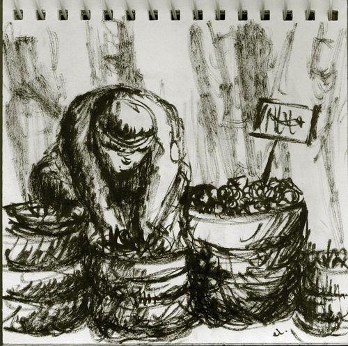 My art-work | Marker on paper;