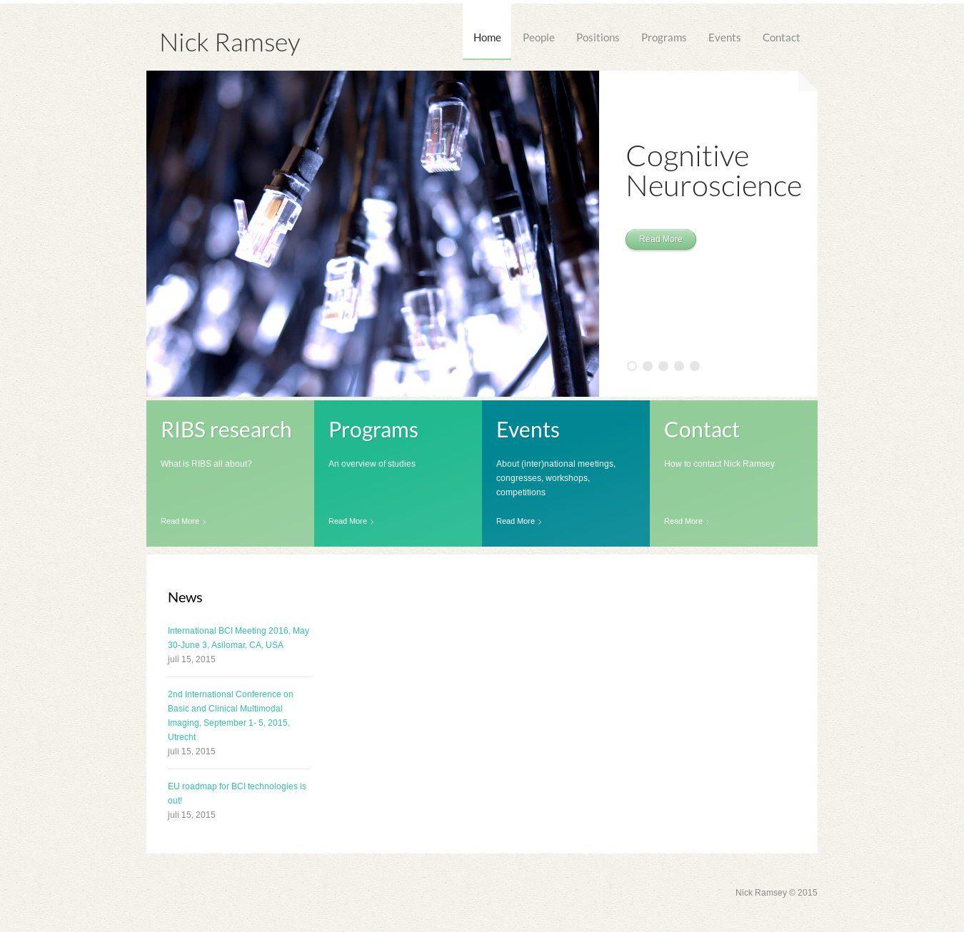 WordPress site nick-ramsey.eu uses the theme1456 wordpress template ...