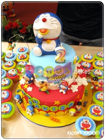 Doraemon Birthday Cake Pictures cartoon: doraemon ...