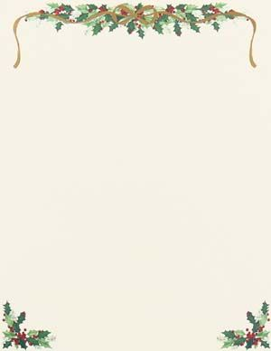 Adorable image with regard to free printable christmas letterhead