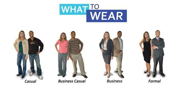 Business Casual and even Casual are okay to show up to work in ...