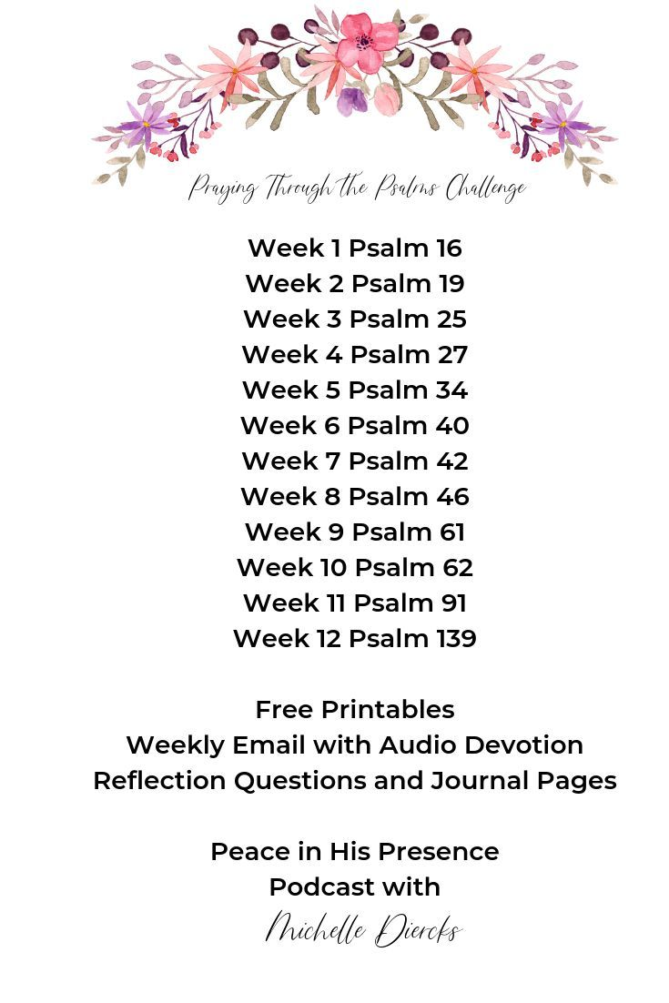 Learn to Pray through the Psalms | CHRISTIAN LIVING TIPS