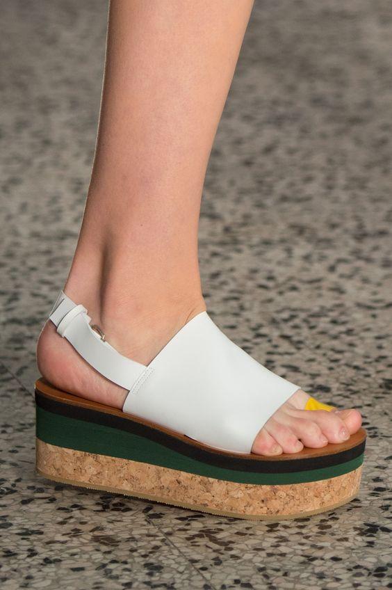SANDALIAS FLATFORM PARA EL VERANO 2017 | Chaussures femme