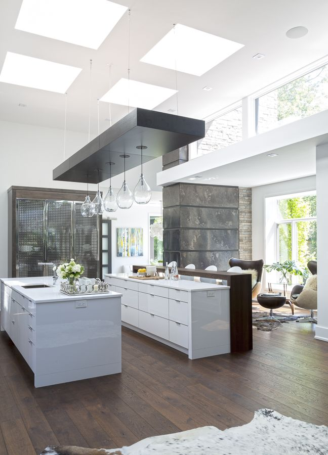 Interior Design Open Kitchen: Open Concept Modern Kitchen