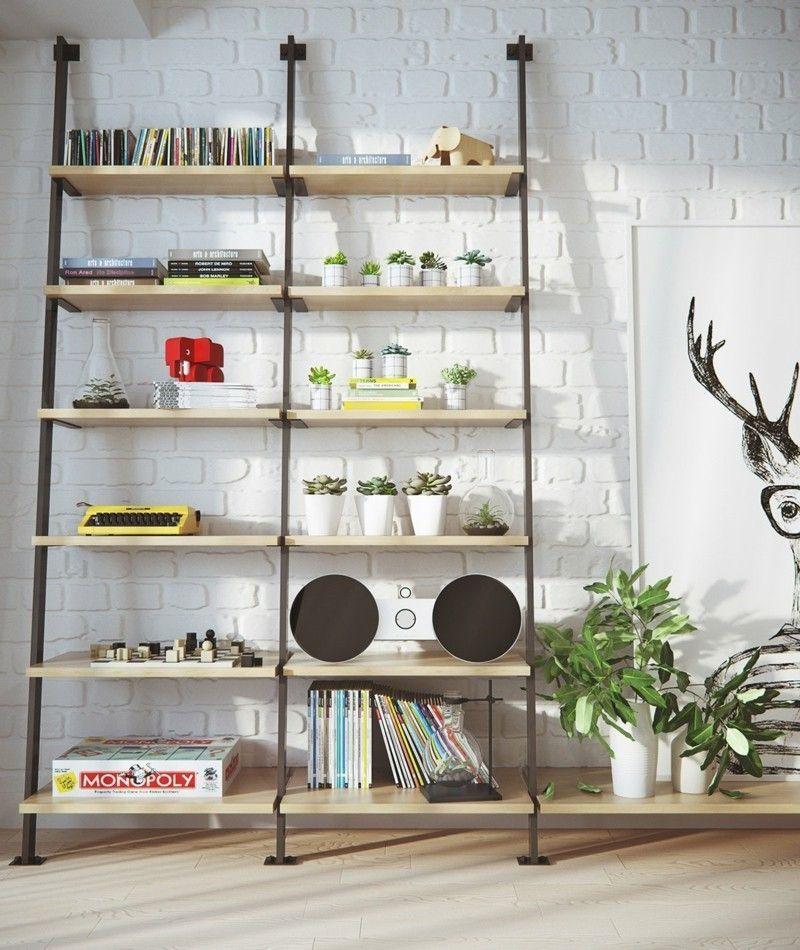 cool skandinavisch wohnen Wohnzimmer Möbel skandinavische Deko ...