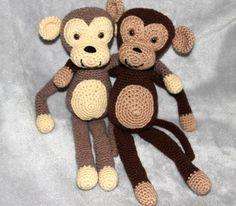 Affen Häkeln Häkeln Pinterest Crochet Crochet Toys Und