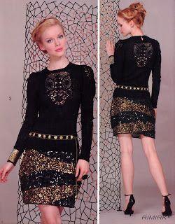 Outstanding Crochet: Crochet Inset. Give a regular clothing an outstanding look.