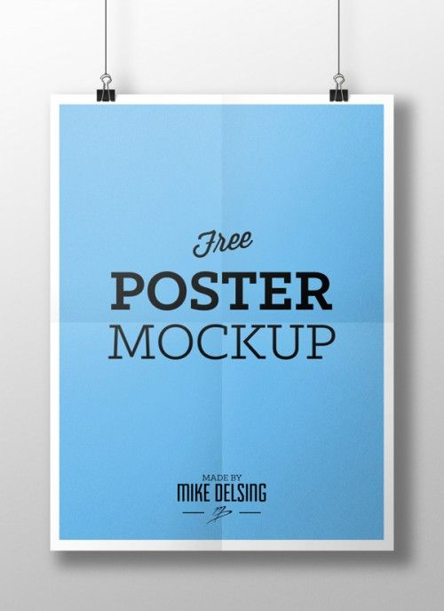 Hanging Paper Poster Mockup Psd Poster Mockup Poster Mockup Psd Poster Design
