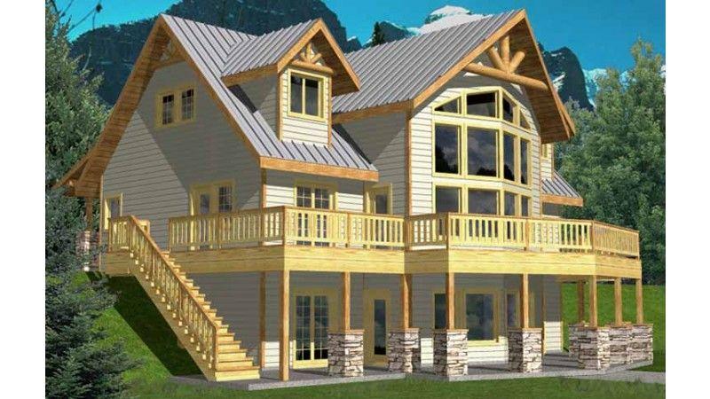 Modern Style House Plan  Ft Plan  117