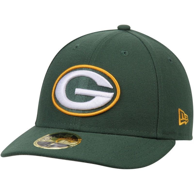 Green Bay Packers New Era Omaha Low Profile 59FIFTY Structured Hat - Green