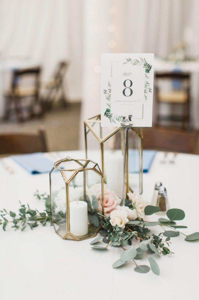 Vibrant Blue Evergreen Museum Wedding