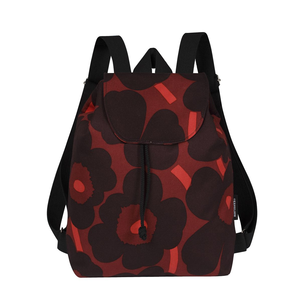 e0551ccf3f Marimekko Unikko Red   Plum Erika Backpack