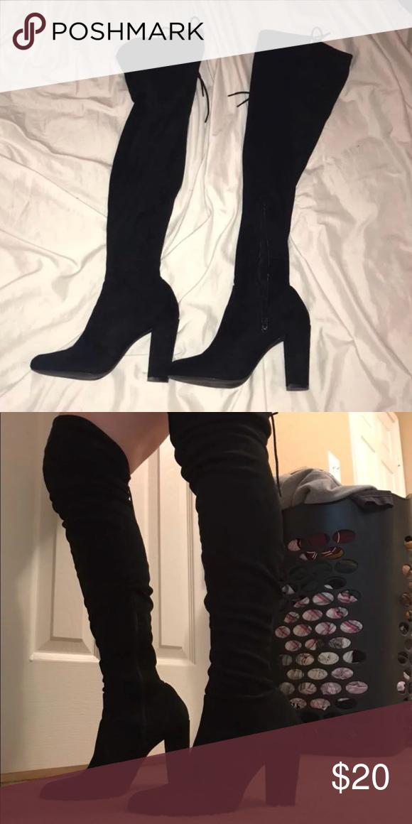 Fashion nova thigh high boots | Fashion