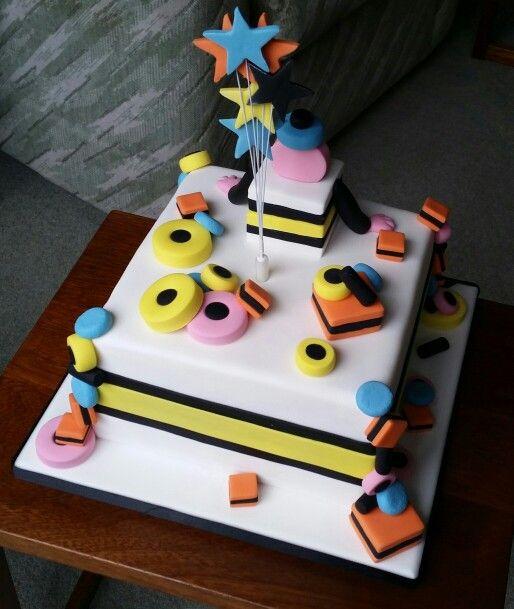 Back Of Bertie Bassett Liquorice Allsorts Cake For My Daddy S 84th