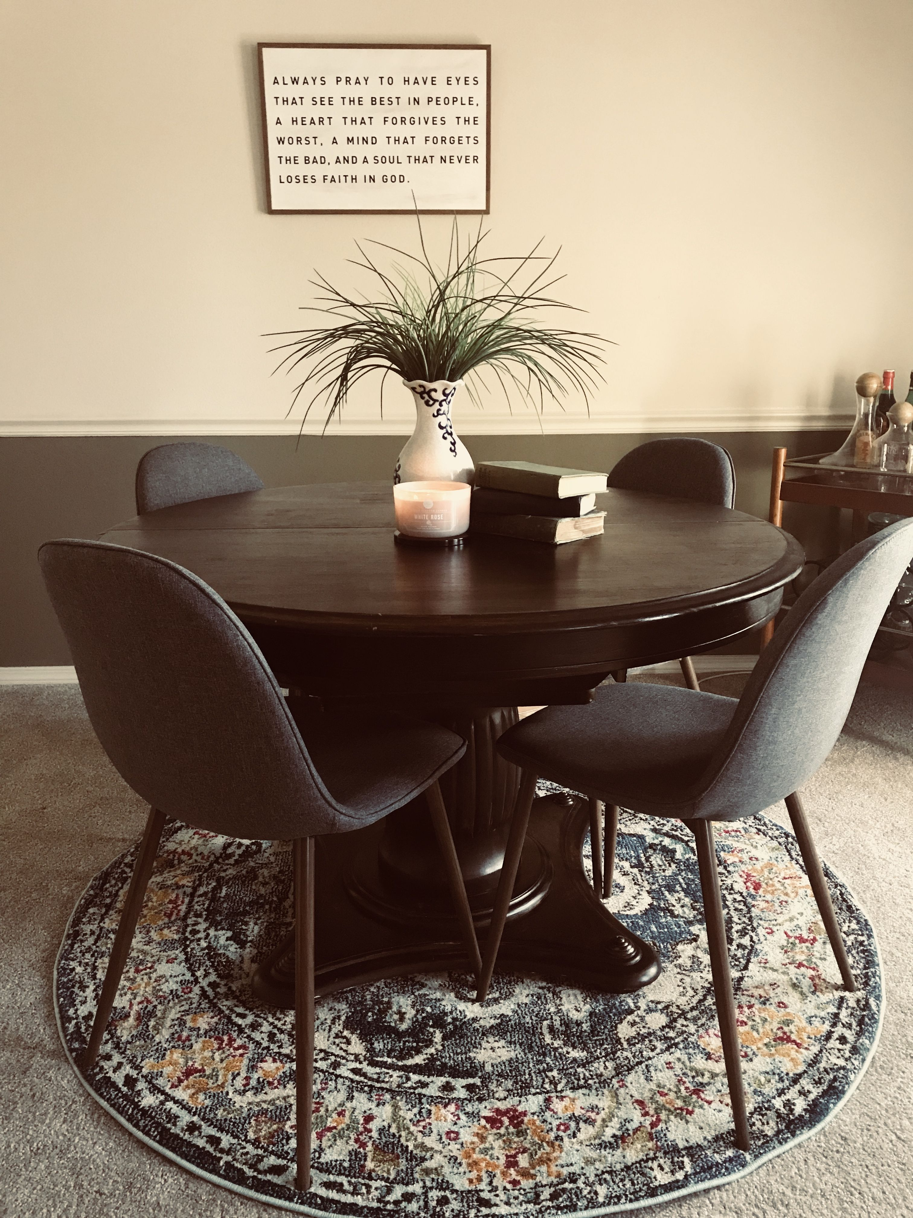 Simplistic Mid Century Dining Copley Upholstered Dining Chairs