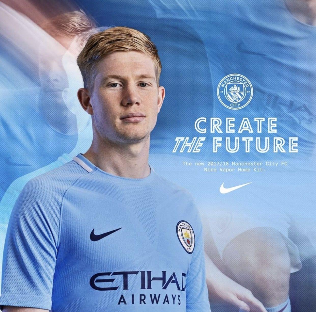 Create the future!  KDB  mcfc  mancity Manchester City 4f4d1af72