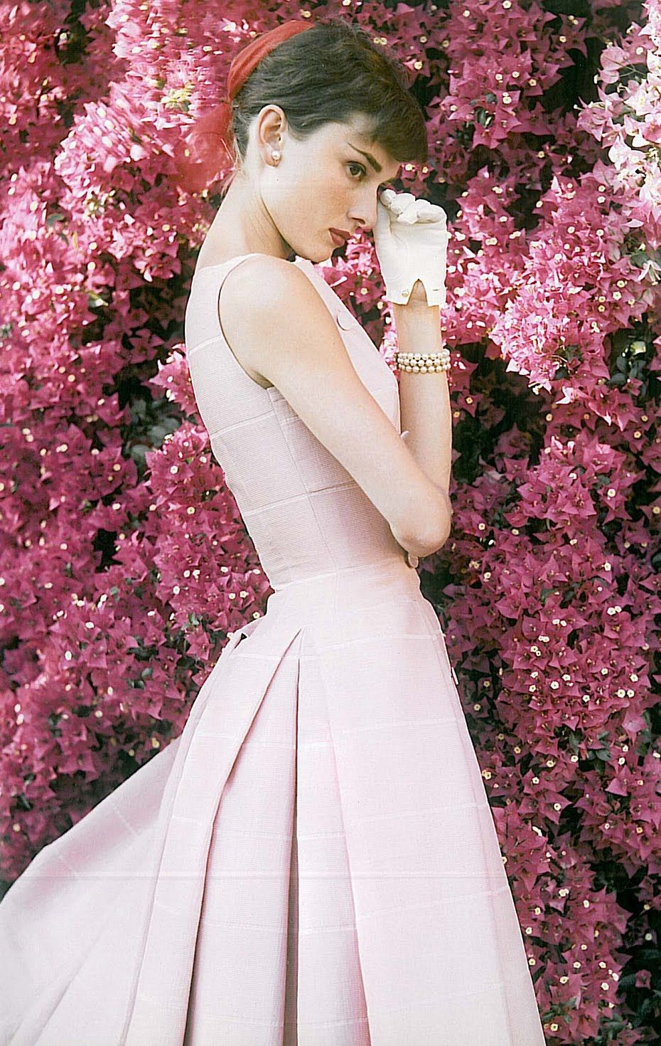 Audrey hepburn is pretty in pink obsessed pinterest audrey audrey hepburn is pretty in pink mightylinksfo Choice Image