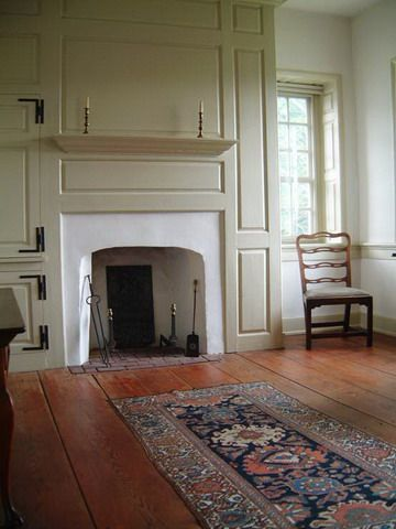 Early American Colonial Interiors That We Could Still Live In