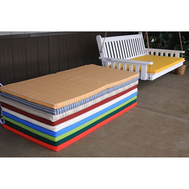 Superior 68 X 39 Outdoor Bed Swing Cushions   1002   1006 Cusion