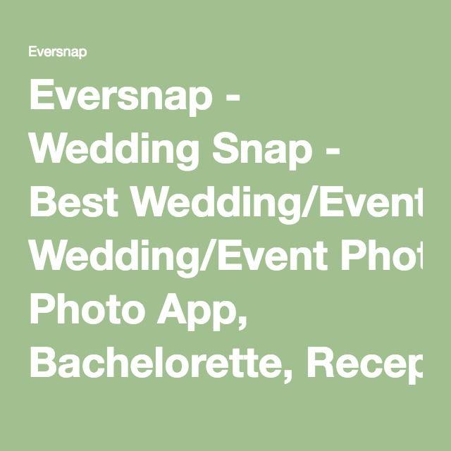 eversnap wedding snap best
