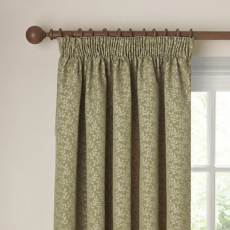 Buy John Lewis Tate Lined Pencil Pleat Curtains Online at johnlewis ...