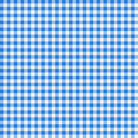 Gingham ~ True Blue ~ by PeacoquetteDesigns on Spoonflower ~ bespoke fabric, wallpaper, wall decals & gift wrap ~ Join PD  ~ https://www.facebook.com/PeacoquetteDesigns #Spoonflower #Peacoquette