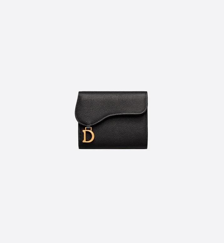 Saddle Calfskin Wallet Accessories Women S Fashion Dior Wallets For Girls Luxury Wallet Designer Wallets