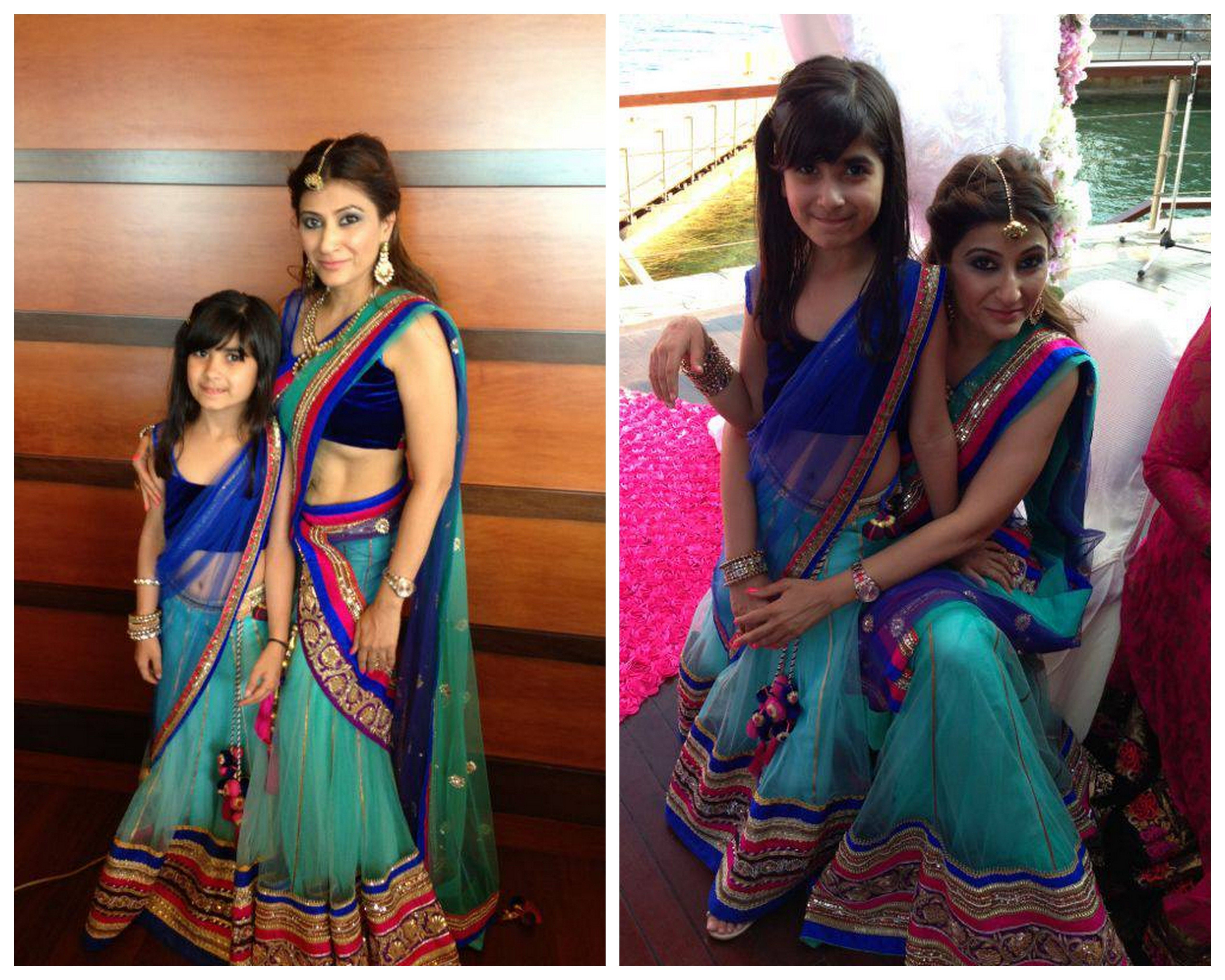 Tulle Lehenga For Mother And Daughter Lehengas Indian