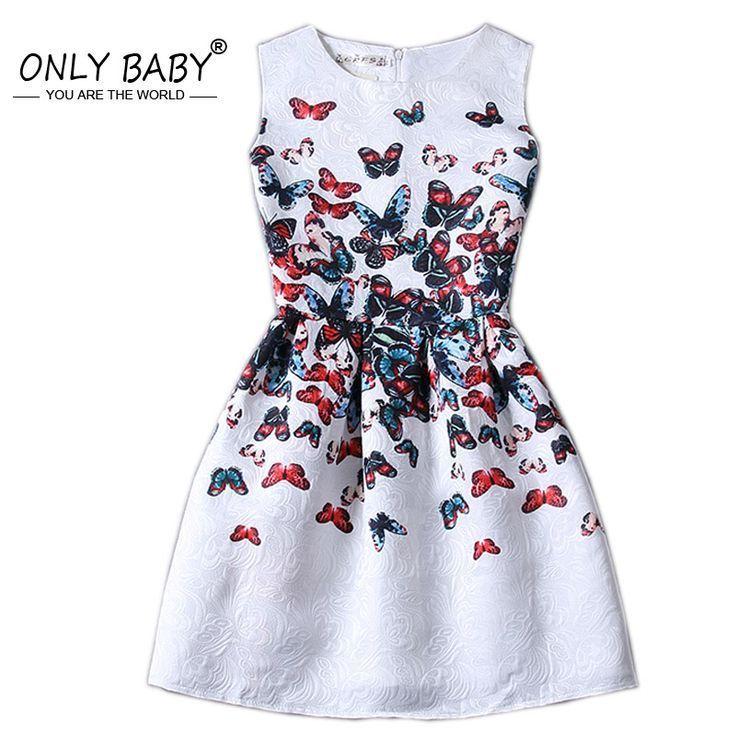 e462b6805 Aliexpress.com   Buy European Style Teenage Girls Dress Kids Dresses ...