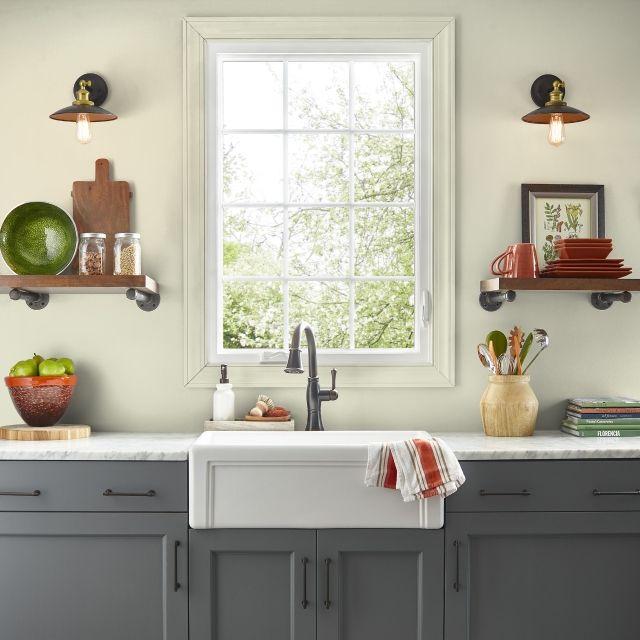 Color Finder | DRIED LICHEN LF190-01 | Kilz, Primitive kitchen