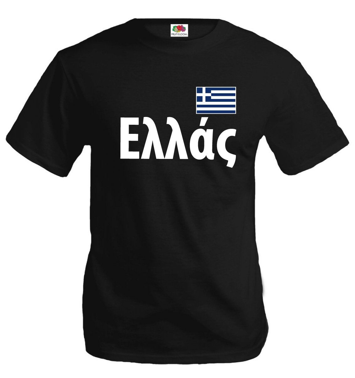 buXsbaum T-Shirt GREECE-L-black. produced and designed by buXsbaum. Fruit of the Loom T-Shirt. 100% cotton. high quality durable print. Machine Washable, 30 degrees and iron on reverse of print.