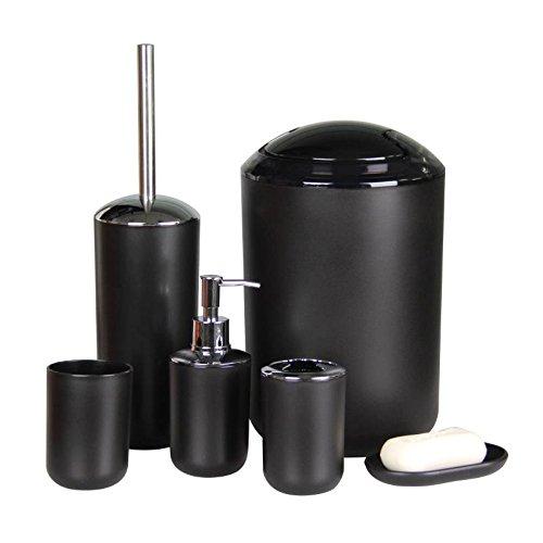 Imavo Bathroom Accessories Set Black Bathroom Accessories Bathroom Accessories Sets Bathroom Accessories