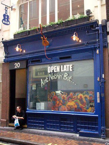 Ain't Nothin' But, Blues Bar, London. <3
