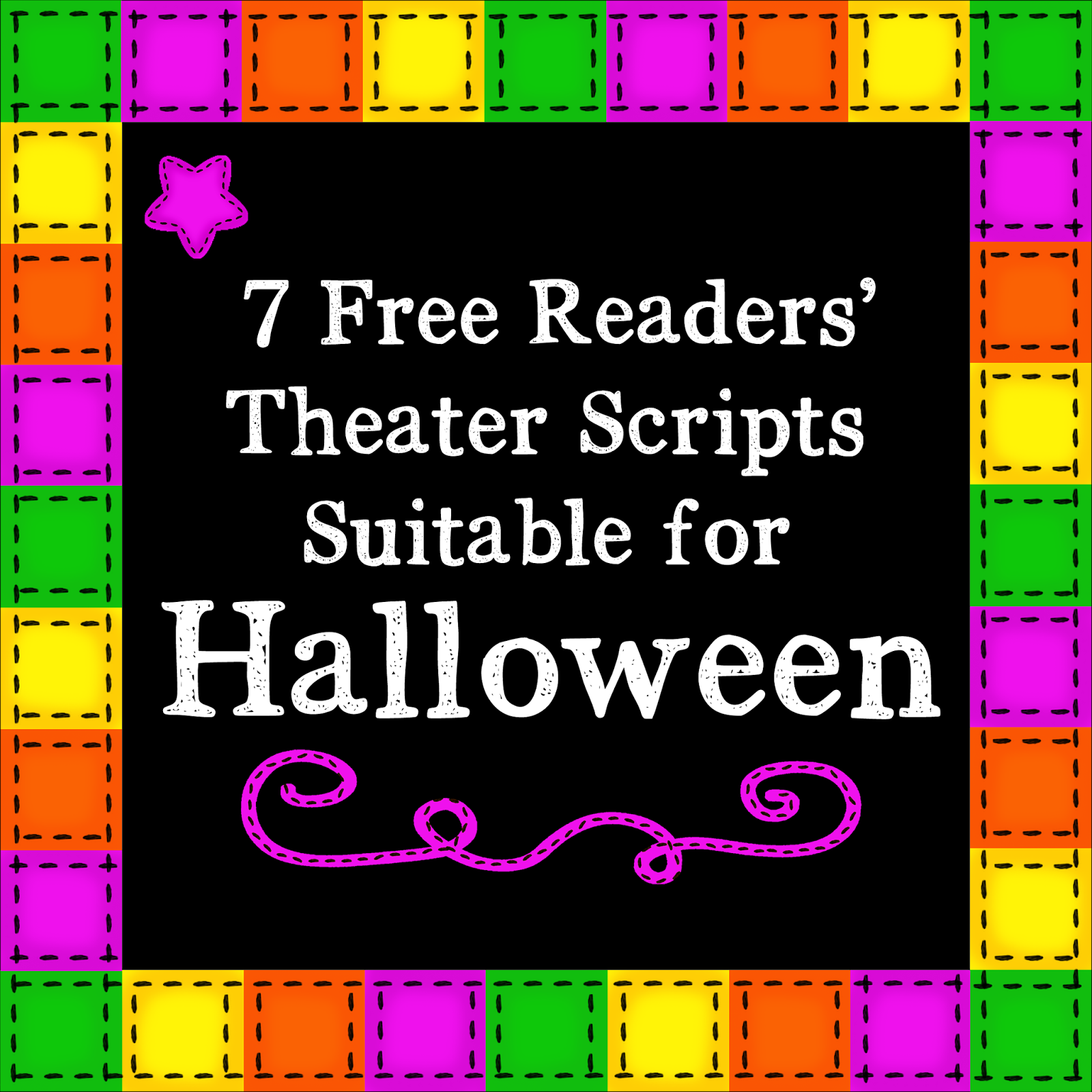 Kb Konnected Clips 7 Free Readers Theater Scripts For Halloween