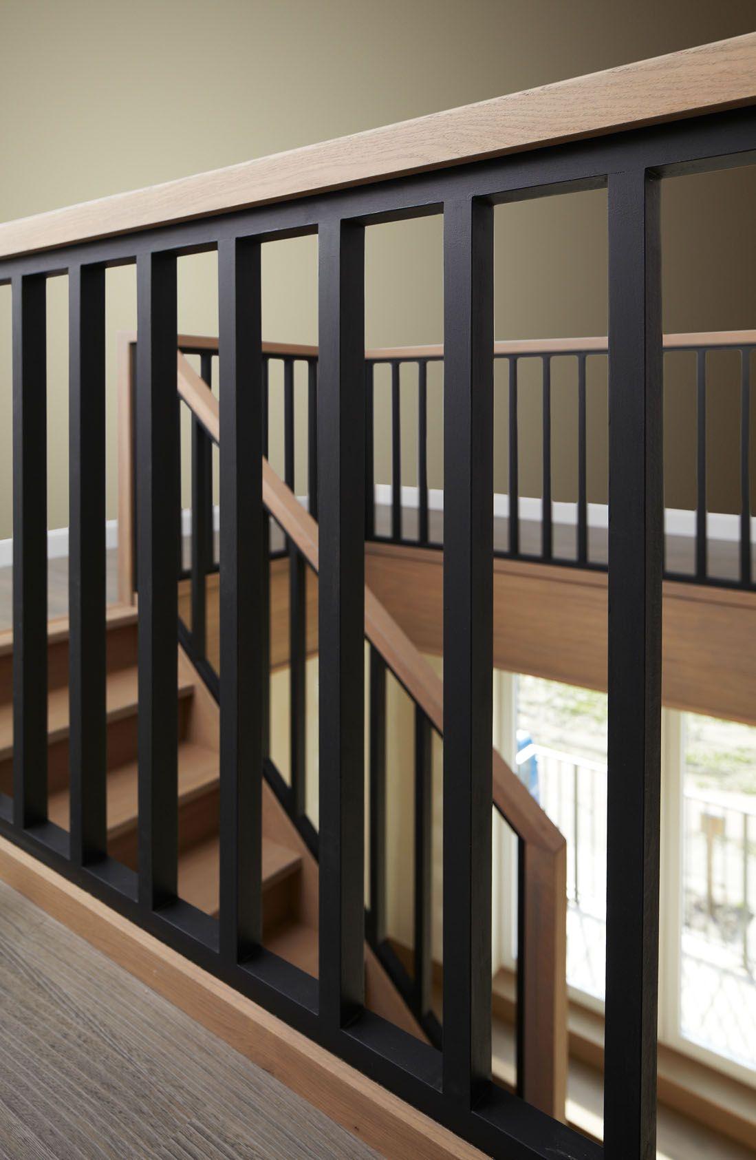 Moderne trappen trappenmakerij lauwers maakt trappen op for Balustrade trap