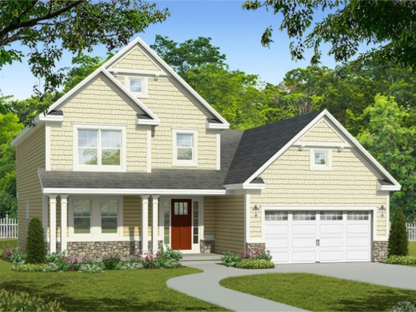 exterior colonial house design. House · EPlans Colonial Plan Exterior Colonial House Design