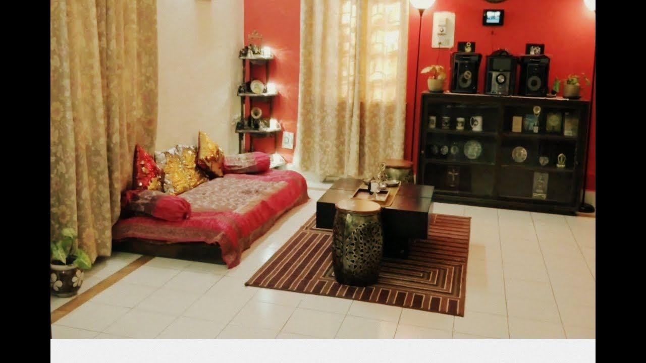 Indian Style Low Sitting Living Room Elegant Home Decor Ideas And Tour Home Decor Living Room Decoration Indian Style Elegant Homes