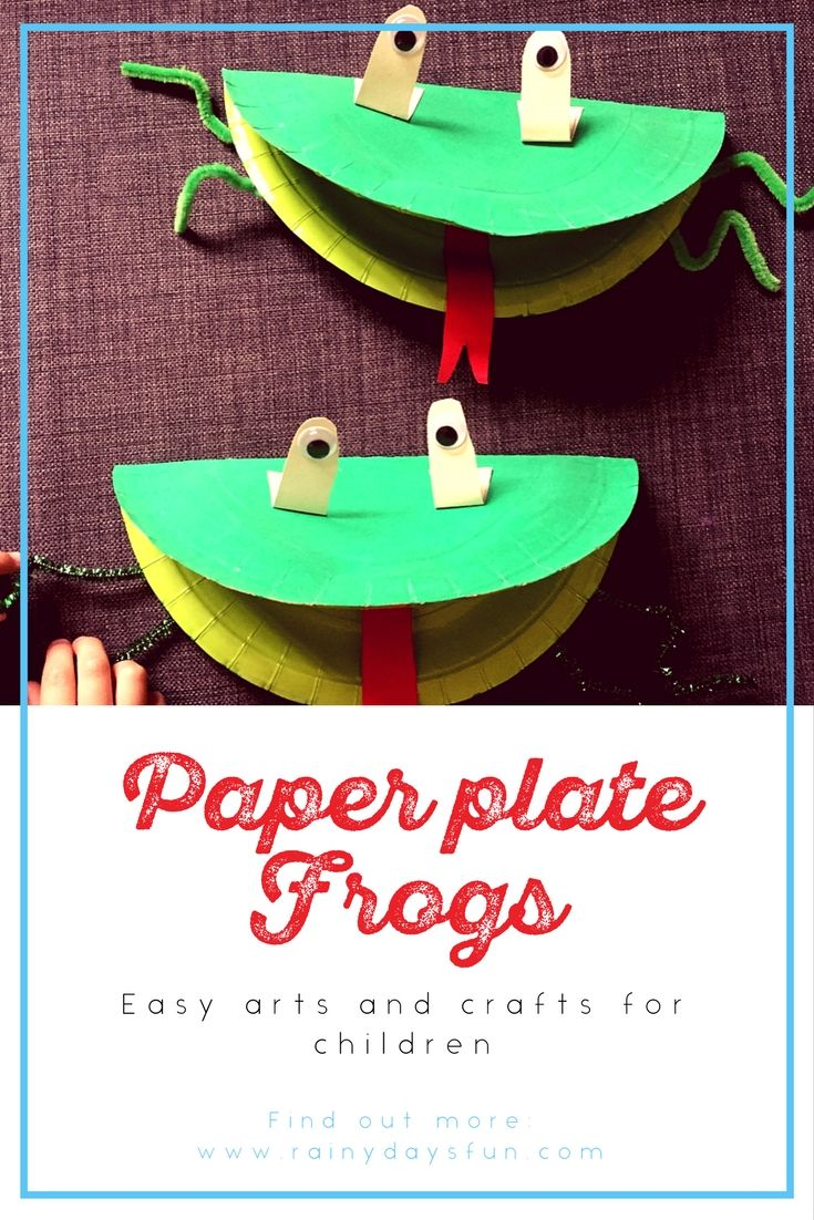Recycle old paper plates into cute animals. Great and easy indoor craft for children.  sc 1 st  Pinterest & Arts and crafts for children from recycling | Indoor crafts ...