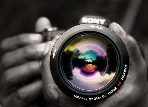 The Black and White Photography | Cameras and Colour splash