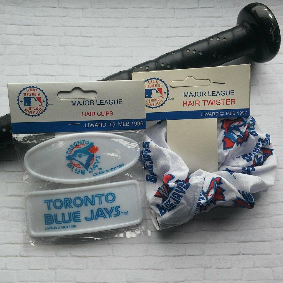 Retro Toronto Blue Jays, 90's Blue Jays Hair Scrunchie