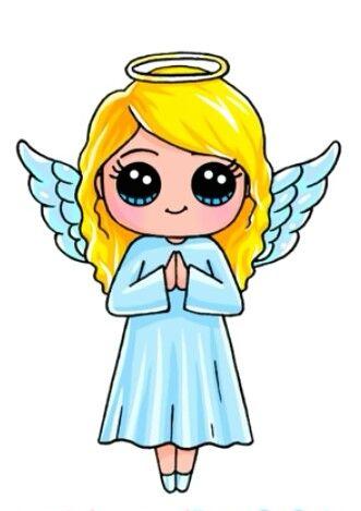 Angel By Draw So Cute Art Pinterest Cute Drawings Drawings