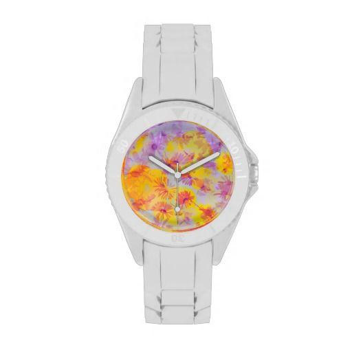 Flowering #10 - Wrist Watch Wrist Watch